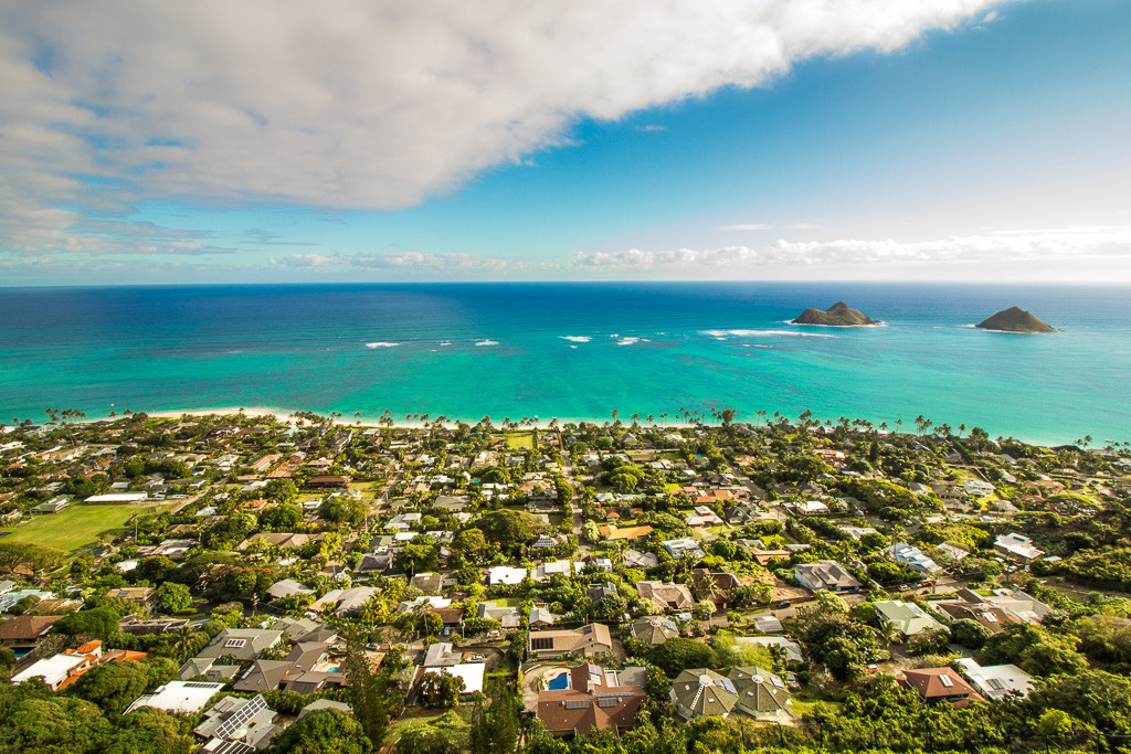 Lanikai Pillboxes and the Lanikai Neighborhood sunrise hike