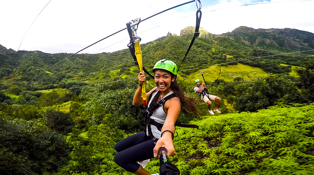 KUALOA RANCH ZIPLINE ON OAHU, HAWAII - Journey Era