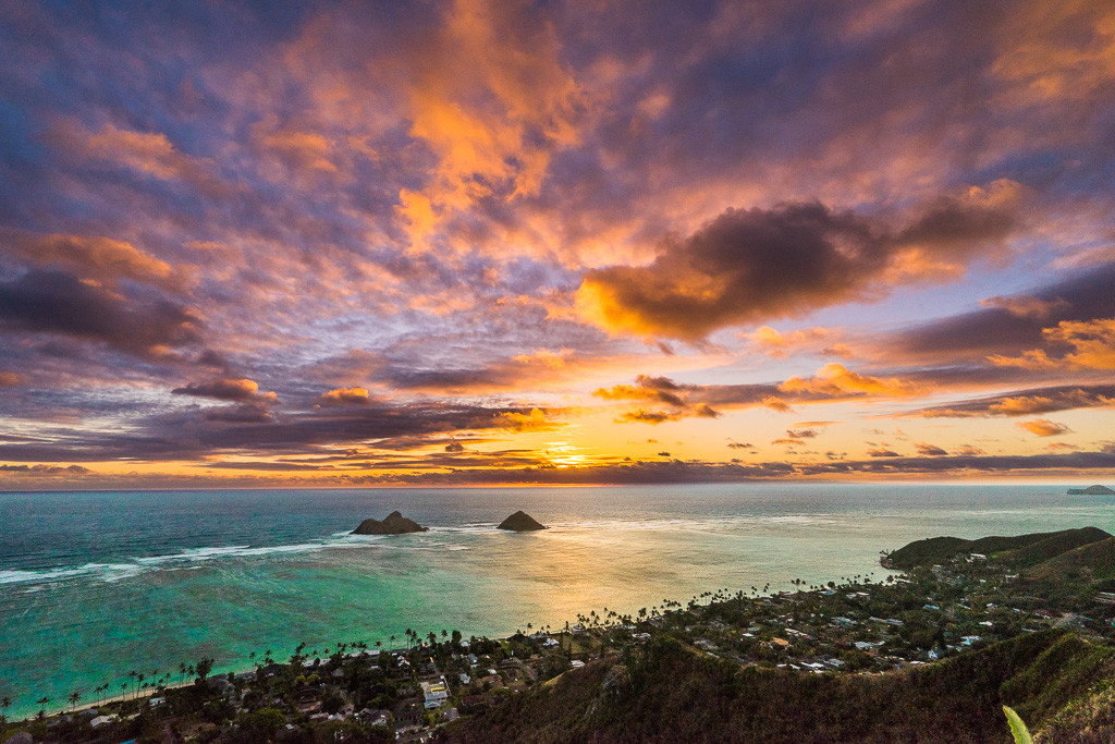 Lanikai Pillbox Sunrise View
