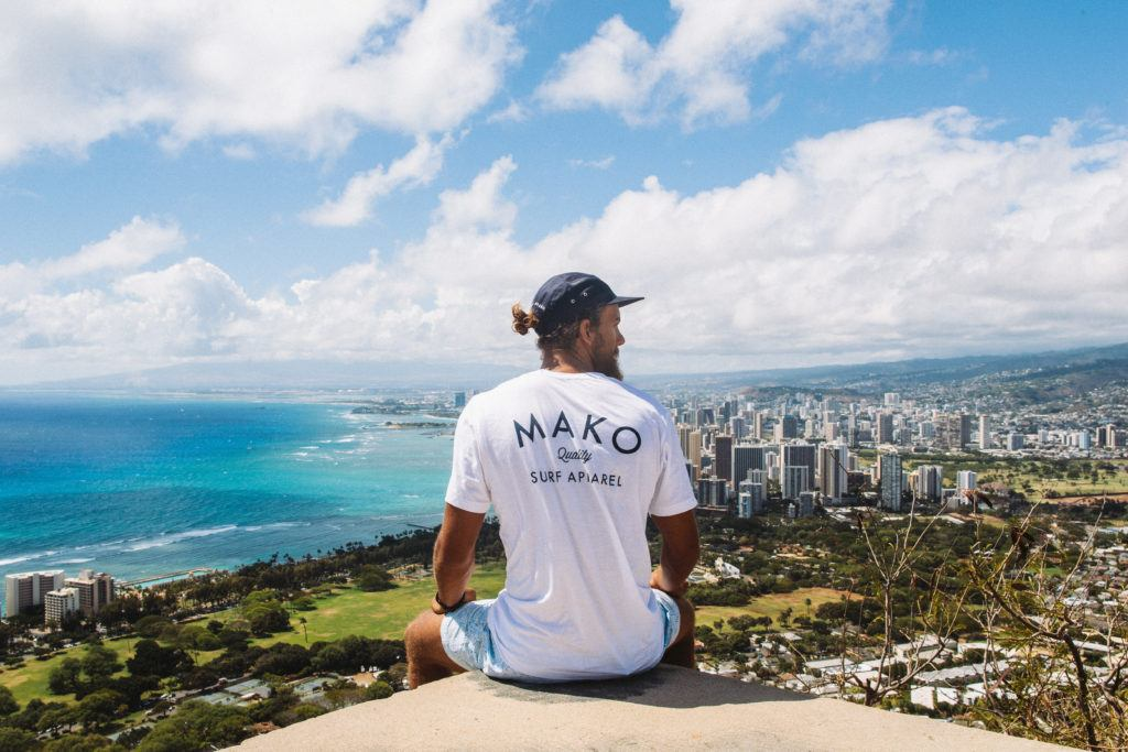 View from Diamond Head Crater