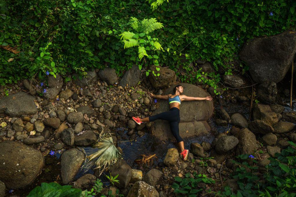 Yoga in manoa falls