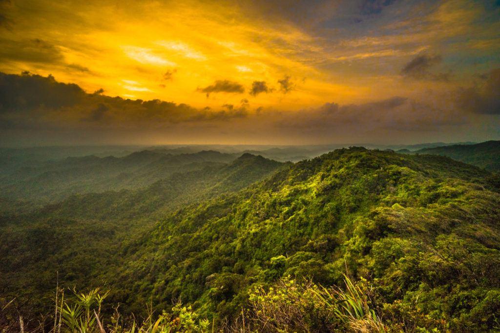 Sunset KST Trail Hawaii