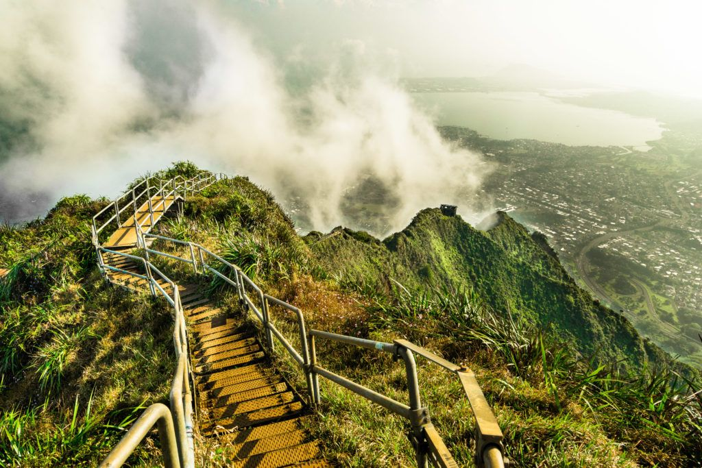 the view fro stairway to heaven