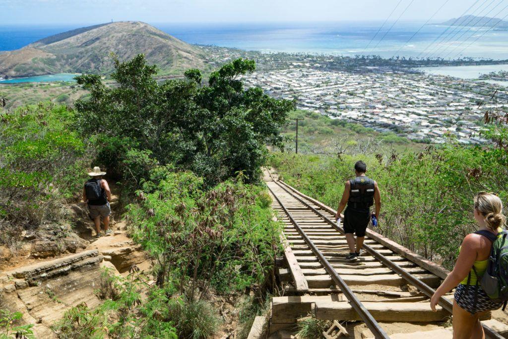 koko head stairs hike