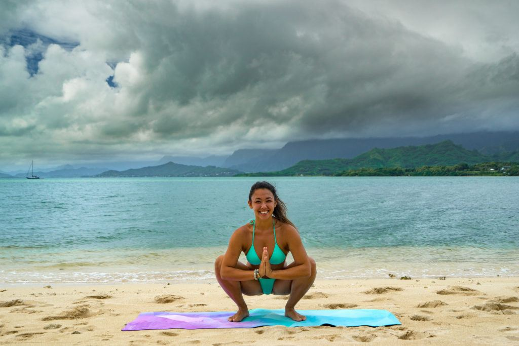 yoga poses for travelers garland
