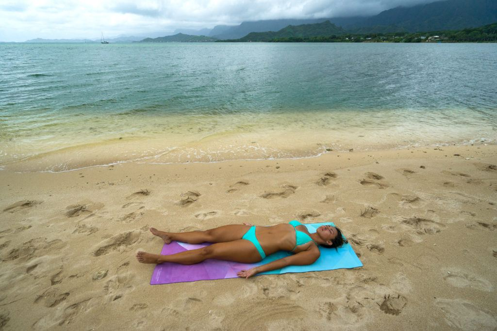 yoga poses for travelers corpse