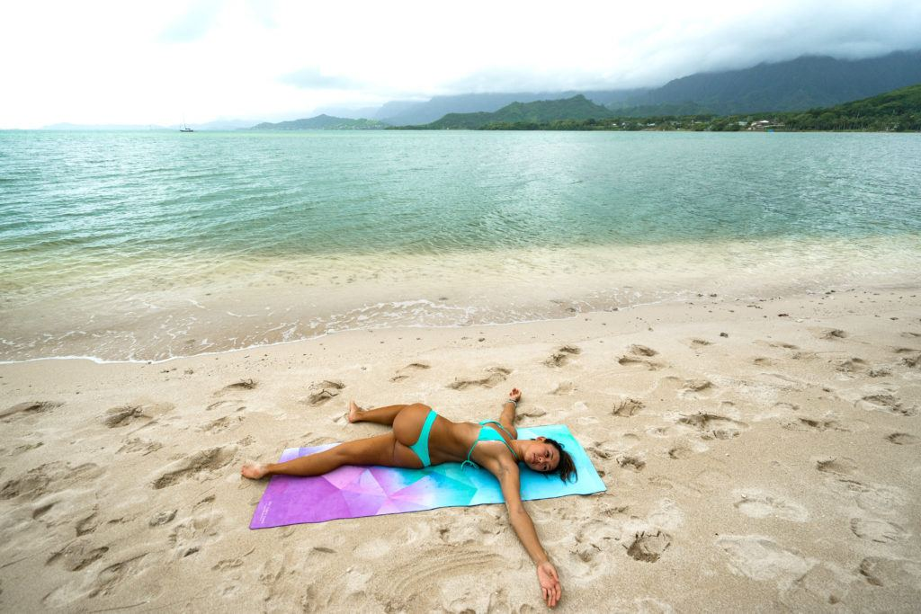 yoga poses for travelers supine