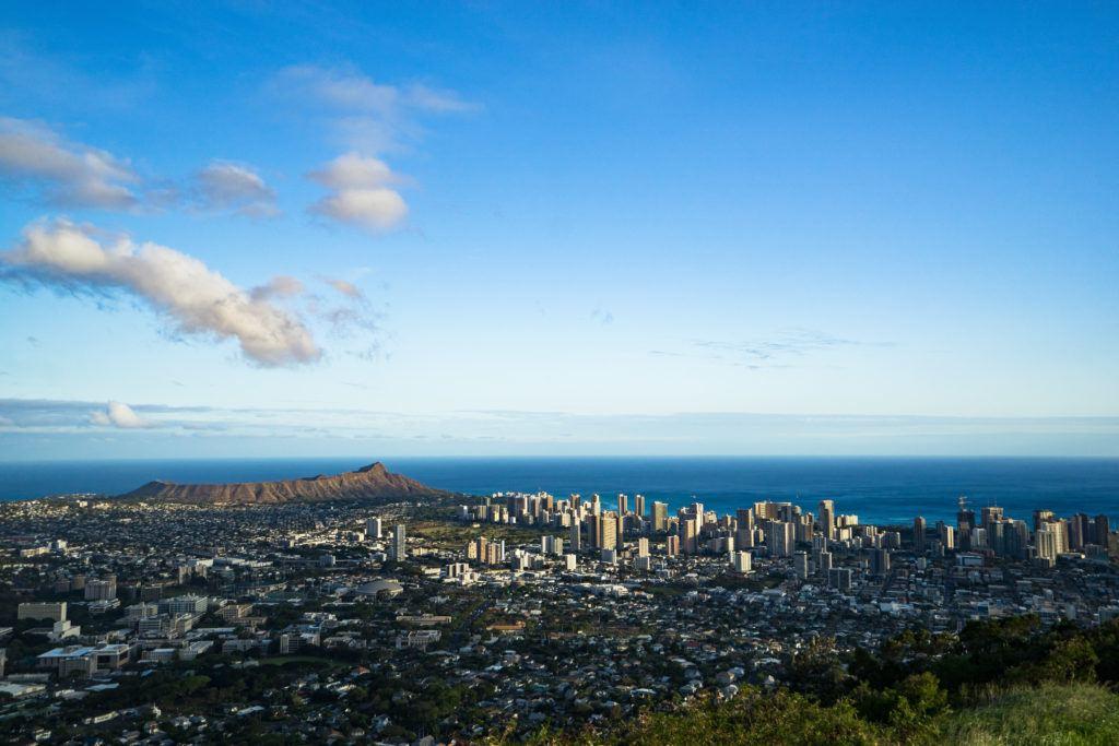 view of waikiki best oahu lookout