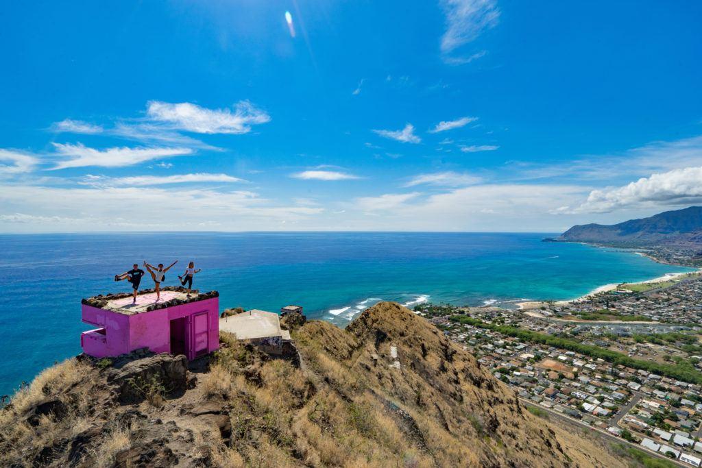 pink pillbox hike, HIKE ON OAHU, BEST HIKES ON OAHU, HIKES ON OAHU, OAHU TRAILS, OAHU HIKES