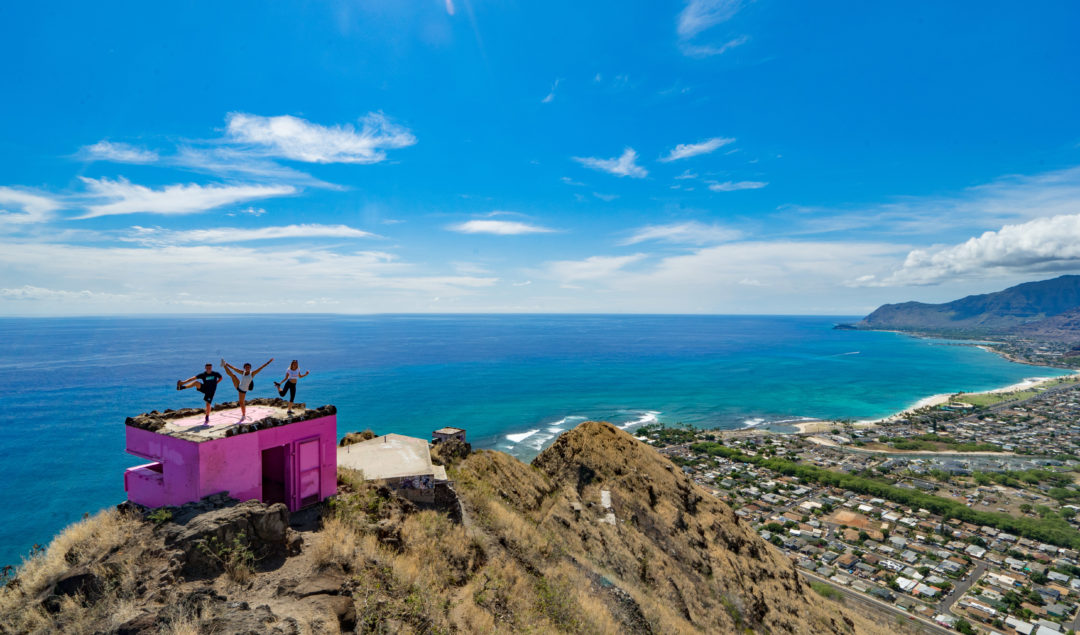pink pillbox hike, HIKE ON OAHU, BEST HIKES ON OAHU, HIKES ON OAHU, OAHU TRAILS, OAHU HIKES