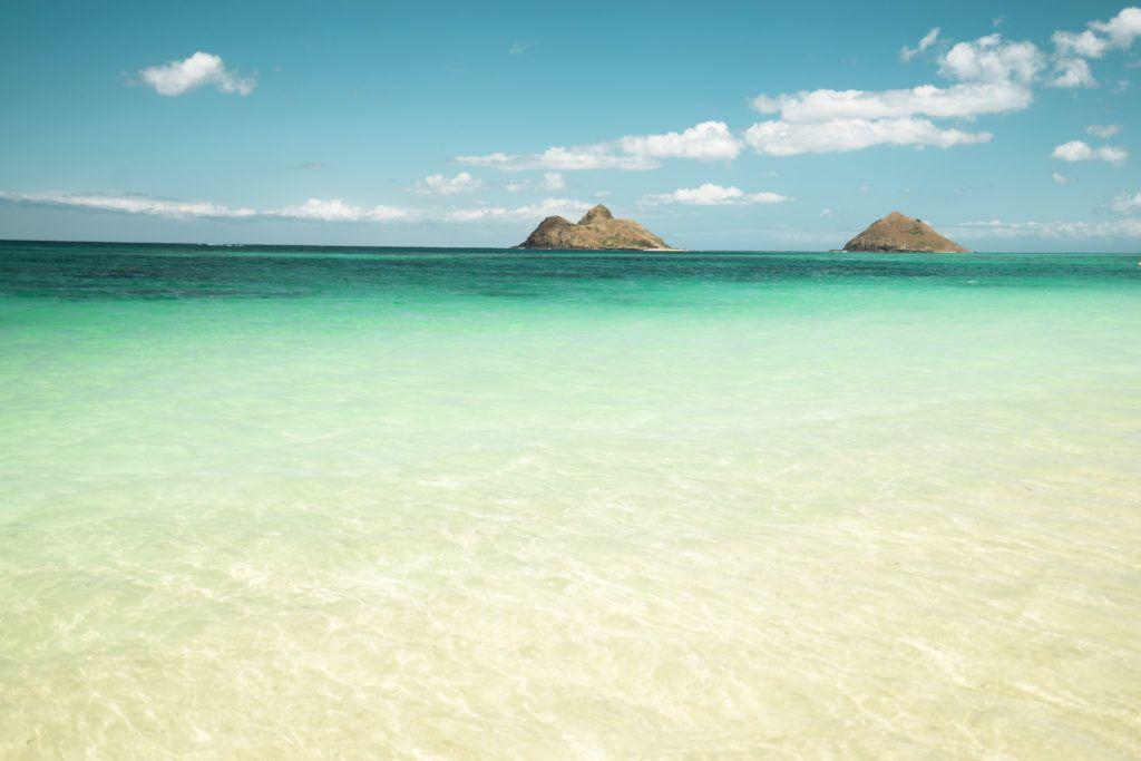 lanikai beach, lanikai pilboxes