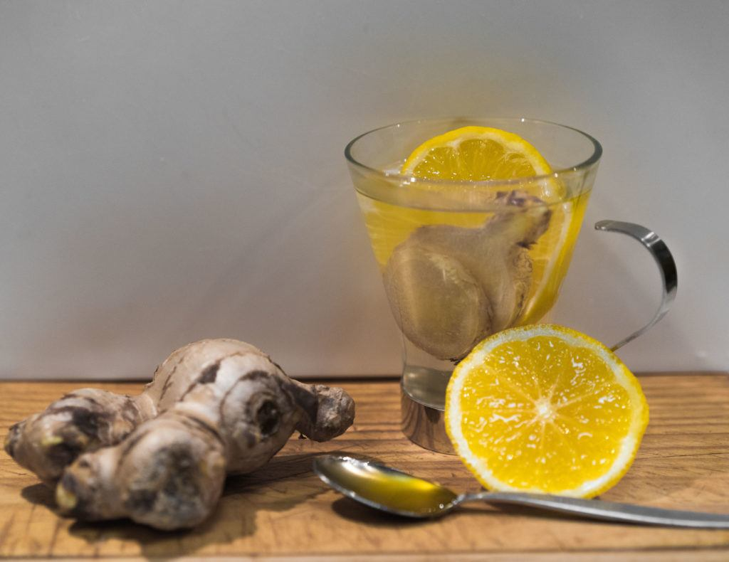 honey ginger lemon tea