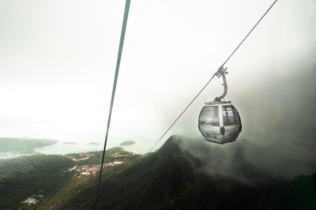 langkawi, langakawi cable car