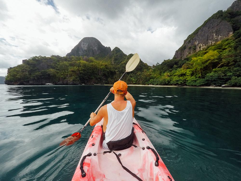 What to do el nido, el nido guide, kayak el nido, el nido kayak, map of el nido palawan, tours in el nido