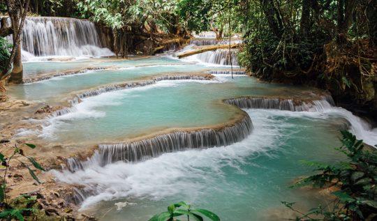 Kuang si falls, kuang si, kuang si waterfall luang prabang, kuang si wasserfall, kuang si bear rescue centre, kuang si falls tour, kuang si falls map,
