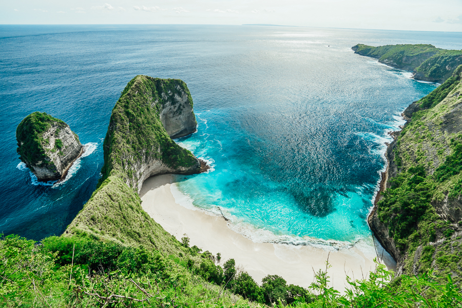 Kelingking Beach Secret Point On Nusa Penida Journey Era