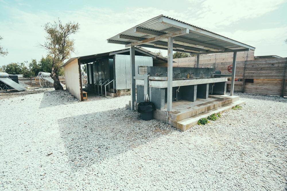 kara tepe refugee village lesvos