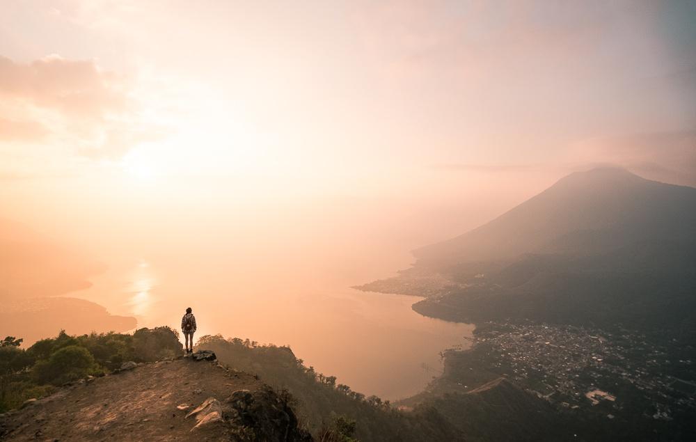 indian nose hike atitlan, indian nose guatemala,lake atitlan indian nose hike,indian nose hike