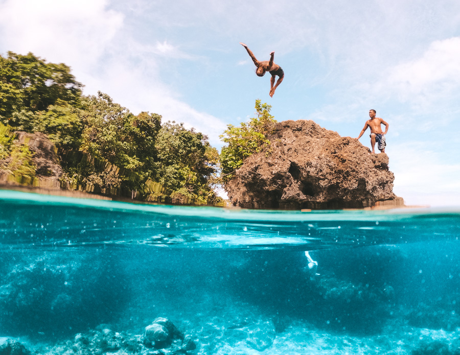 6 CLIFF JUMPING SPOTS IN SIARGAO, PHILIPPINES - Journey Era