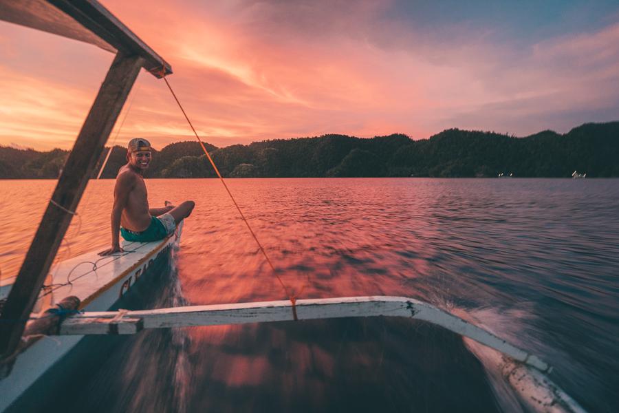 sunset spots siargao, siargao island