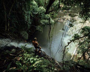 siargao waterfall, taktak, tak tak, taktak waterfall, tak tak waterfall