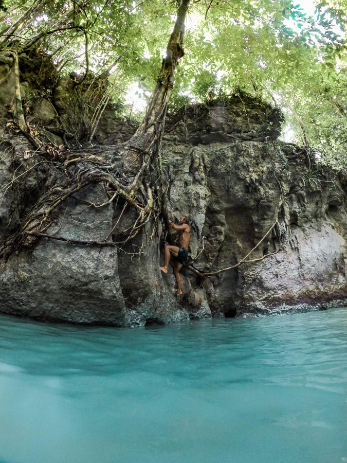 tayangban cave, tayangban cave pool, cave pool, cavepool, underwater cave in philippines, wave cave siargao, siargao cave, cave siargao