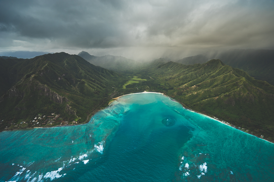 Amazing Doors Off Helicopter Tour Of Oahu Hawaii