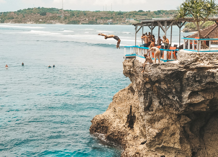 BEST CLIFF JUMP SPOTS IN BALI, INDONESIA - Journey Era