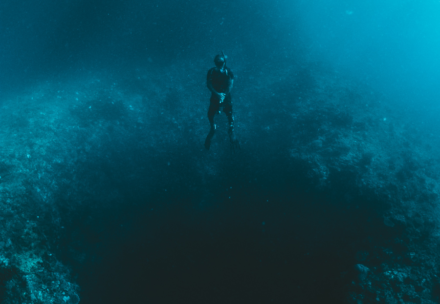 blue hole diving tablas romblon