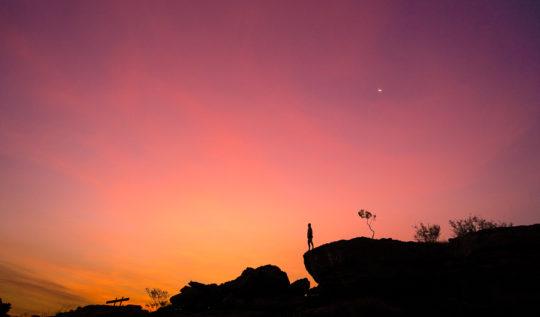 nourlangie rock lookout sunset kakadu