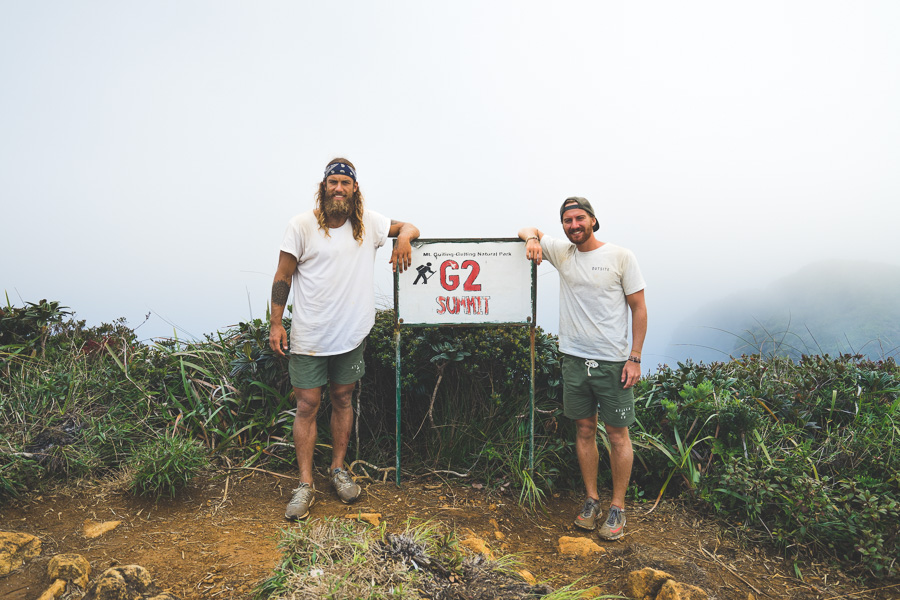 trekking mt guiting guiting g2 sibuyan island
