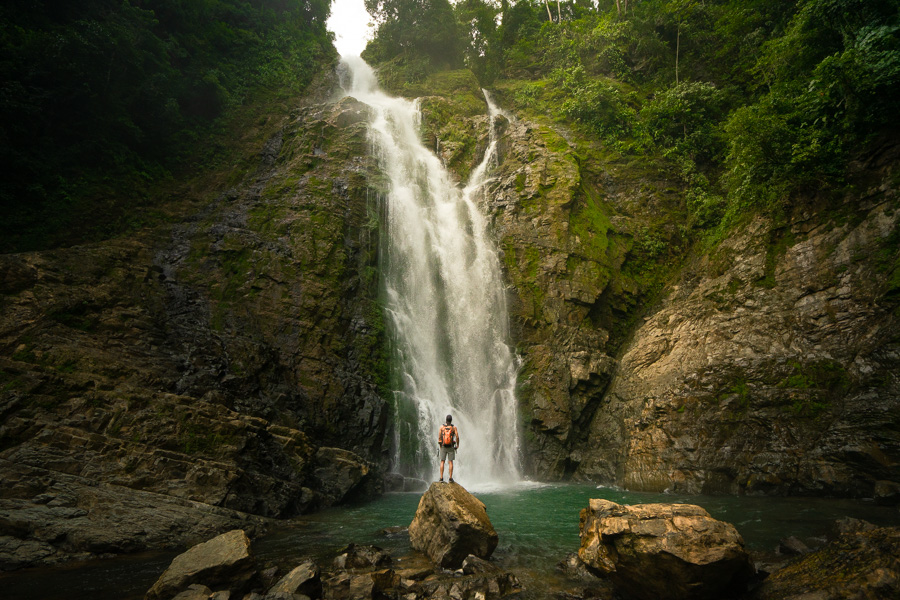 chiriqui photos, Cabello de Angel Waterfall Chirqui