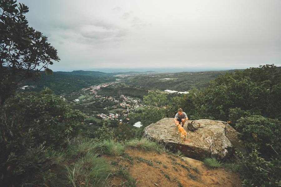 la piedra de lino rock hike