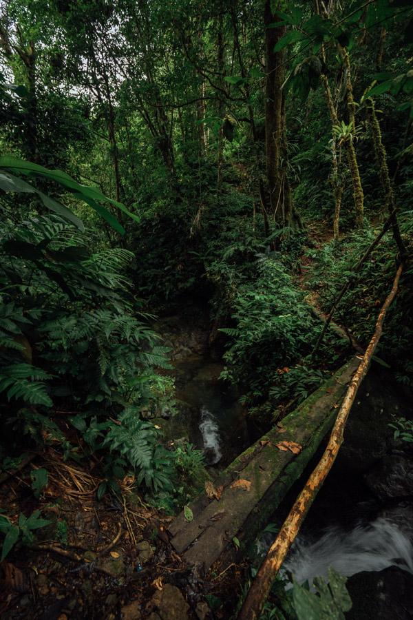 alto de piedra waterfall santa fe