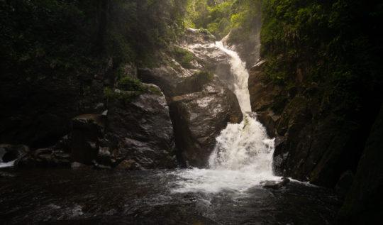 bermejo waterfall santa fe hike