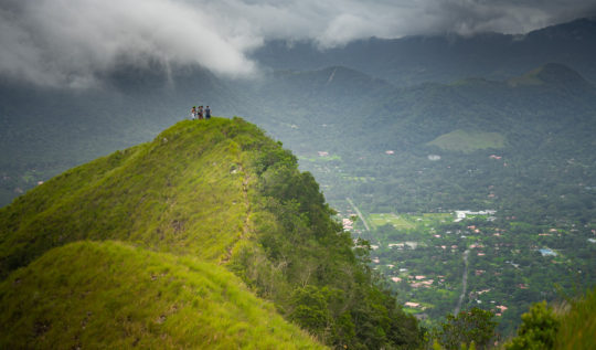 cerro cara iguana anton valley panama
