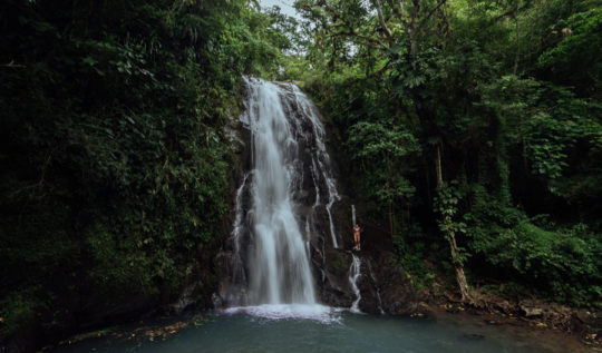 FILIPINAS WATERFALLS IN SORA, PANAMA