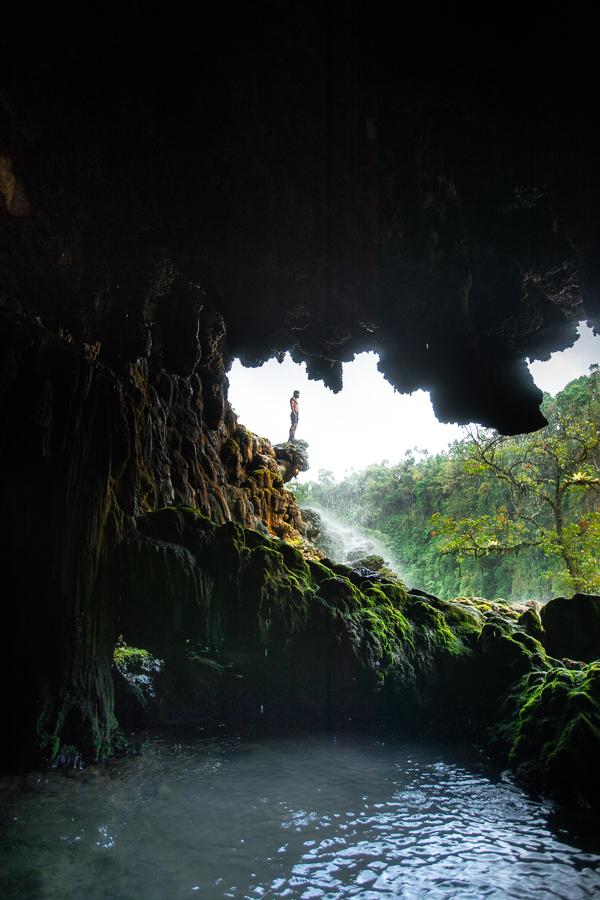 goa tetes waterfall lumajang east java