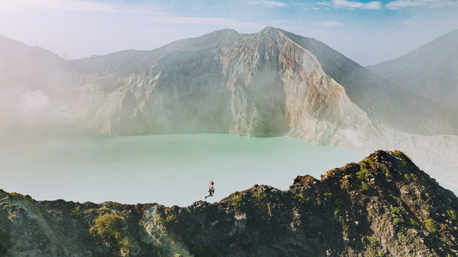 IJEN CRATER TREK AND THE BLUE FLAME IN EAST JAVA