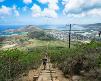 KOKO HEAD STAIRS HIKE: 1,048 TORTUROUS STEPS